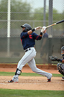 Yandy Diaz - Cleveland Indians 2016 spring training (Bill Mitchell)