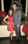Cameron Mathison and Kellie Martin at 'The Christmas Ornament Premiere' at La Piazza Restaurant at the Grove in Los Angeles, Ca. November 13, 2013