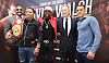 Floyd Mayweather Jr &amp; Frank Warren press conference at The Savoy Hotel, London, Great Britain <br /> 7th March 2017 <br /> <br /> Leonard Ellerbe <br /> (CEO of Mayweather Promotions)<br /> <br /> Gervonta Davis <br /> (an American professional boxer who has held the IBF junior lightweight title since January 2017)<br /> <br /> <br /> Floyd Joy May weather Jr. is an American former professional boxer who competed from 1996 to 2015 and currently works as a boxing promoter. <br /> <br /> Frank Warren Boxing Promoter <br /> Liam Walsh <br /> (a British professional boxer and the current Commonwealth super featherweight champion)<br /> <br /> <br /> <br /> <br /> Photograph by Elliott Franks <br /> Image licensed to Elliott Franks Photography Services