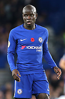 N'Golo Kante of Chelsea during Chelsea vs Manchester United, Premier League Football at Stamford Bridge on 5th November 2017