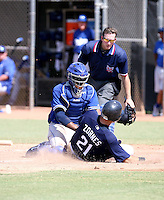 Kenley Jensen / Los Angeles Dodgers 2008 Instructional League..Photo by:  Bill Mitchell/Four Seam Images