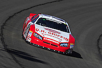 Oct. 10, 2009; Fontana, CA, USA; NASCAR Nationwide Series driver Mike Bliss during the Copart 300 at Auto Club Speedway. Mandatory Credit: Mark J. Rebilas-