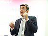Andy Burnham MP, Labour&rsquo;s Shadow Health Secretary launches Labour&rsquo;s 10-year plan for health and social care services<br /> 27th January 2015 at The King's Fund, London, Great Britain <br /> <br /> Andy Burnham <br /> <br /> <br /> <br /> Photograph by Elliott Franks <br /> Image licensed to Elliott Franks Photography Services
