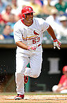 14 March 2007: St. Louis Cardinals outfielder John Rodriguez in the action against the Washington Nationals at Roger Dean Stadium in Jupiter, Florida...Mandatory Photo Credit: Ed Wolfstein Photo