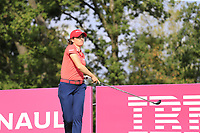 Gaby Lopez (MEX) tees off the 5th tee during Friday's Round 2 of The Evian Championship 2018, held at the Evian Resort Golf Club, Evian-les-Bains, France. 14th September 2018.<br /> Picture: Eoin Clarke | Golffile<br /> <br /> <br /> All photos usage must carry mandatory copyright credit (&copy; Golffile | Eoin Clarke)