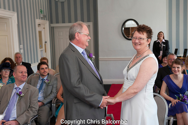 The Wedding of Mike and Debbie, at the Dolphin Hotel in Southampton, Hampshire<br />