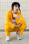 Najwa Nimri during the photoshoot at the end of the first season of &quot;Vis a Vis&quot; in Madrid, Spain. June 18, 2015.<br />  (ALTERPHOTOS/BorjaB.Hojas)
