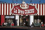 The La Brea Circus at La Brea and Willoughby in Holywood, CA