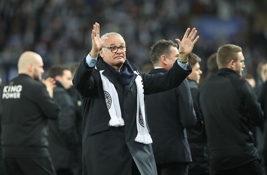 Leicester City's ex Manager Claudio Ranieri<br /> <br /> Photographer Rachel Holborn/CameraSport<br /> <br /> The Premier League - Saturday 10th November 2018 - Leicester City v Burnley - King Power Stadium - Leicester<br /> <br /> World Copyright © 2018 CameraSport. All rights reserved. 43 Linden Ave. Countesthorpe. Leicester. England. LE8 5PG - Tel: +44 (0) 116 277 4147 - admin@camerasport.com - www.camerasport.com