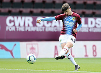Burnley's Anthony Driscoll-Glennon during the pre-match warm-up <br /> <br /> Photographer Rich Linley/CameraSport<br /> <br /> The Premier League - Burnley v Manchester City - Sunday 28th April 2019 - Turf Moor - Burnley<br /> <br /> World Copyright © 2019 CameraSport. All rights reserved. 43 Linden Ave. Countesthorpe. Leicester. England. LE8 5PG - Tel: +44 (0) 116 277 4147 - admin@camerasport.com - www.camerasport.com