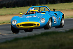 Larry Neviaser's 1968 Ginetta at the SVRA Vintage Grand Prix of Mid-Ohio, 2007.