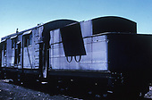 3/4 rear left-side view of D&amp;RGW rotary snowplow #OO.<br /> D&amp;RGW