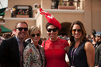 DEL MAR, CA - NOVEMBER 03: Guests enjoy the festivities on Day 1 of the 2017 Breeders' Cup World Championships at Del Mar Thoroughbred Club on November 3, 2017 in Del Mar, California. (Photo by Carson Dennis/Eclipse Sportswire/Breeders Cup)