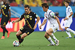 Eden Hazard (BEL), Koo Ja-Cheol (KOR),<br /> JUNE 26, 2014 - Football / Soccer :<br /> FIFA World Cup Brazil 2014 Group H match between South Korea 0-1 Belgium at Arena de Sao Paulo in Sao Paulo, Brazil. (Photo by SONG Seak-In/AFLO)