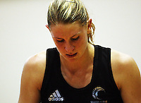 Silver Ferns captain Casey Williams after the loss during the International  Netball Series match between the NZ Silver Ferns and World 7 at TSB Bank Arena, Wellington, New Zealand on Monday, 24 August 2009. Photo: Dave Lintott / lintottphoto.co.nz