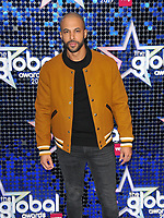 Marvin Humes at the Global Awards 2019, Hammersmith Apollo (Eventim Apollo), Queen Caroline Street, London, England, UK, on Thursday 07th March 2019.<br /> CAP/CAN<br /> &copy;CAN/Capital Pictures
