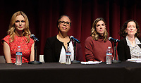 WEST HOLLYWOOD, CA - NOVEMBER 28: Tracy 'Twinkie' Bird, Heather Graham, Kathleen Tarr, at Women In Film Speaker Series Presents Sexual & Gender Abuse in the Workplace at The West Hollywood Library in West Hollywood, California on November 28, 2017. Credit: Faye Sadou/MediaPunch /NortePhoto.com NORTEPOTOMEXICO