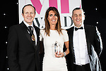 © Joel Goodman - 07973 332324 . 02/03/2017 . Manchester , UK . Law Firm of the Year – Medium (5-20 partners) - Roberts Jackson Solicitors . The Manchester Legal Awards at the Midland Hotel . Photo credit : Joel Goodman