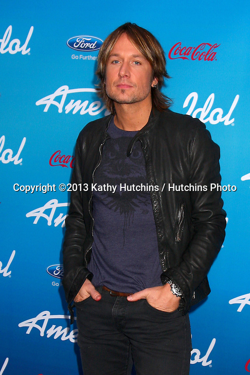 "LOS ANGELES - MAR 7:  Keith Urban arrives at the 2013 ""American Idol"" Finalists Party at the The Grove on March 7, 2013 in Los Angeles, CA"