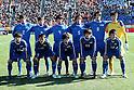 Ichiritsu Funabashi team group line-up (Ichifuna),.JANUARY 7, 2012 - Football / Soccer :.Ichiritsu Funabashi team group shot (Top row - L to R) Masahiro Yonezuka, Takamasa Taneoka, Yuta Koide, Jun Suzuki, Ryo Iwabuchi, Keisuke Tsumita, (Bottom row - L to R) Ryuji Izumi, Tsuyoshi Iwase, Masashi Ikebe, Kento Watanabe and Ryu Matsumaru before the 90th All Japan High School Soccer Tournament semifinal match between Oita 1-2 Ichiritsu Funabashi at National Stadium in Tokyo, Japan. (Photo by Hiroyuki Sato/AFLO)