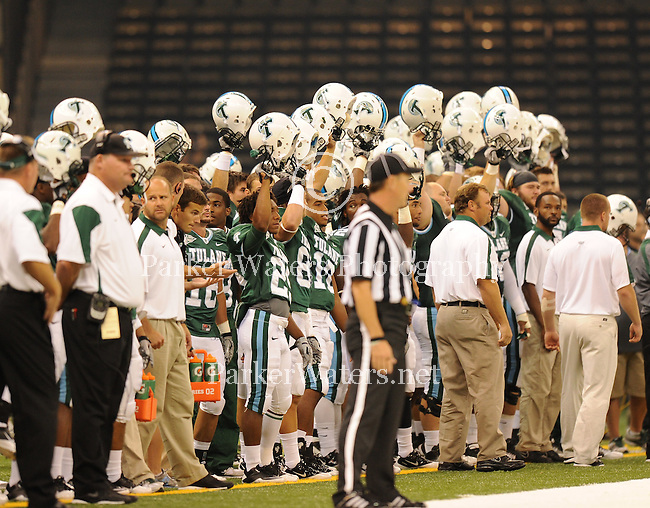 Tulane defeats Southeastern Louisiana 47-33 in the Louisiana Superdome.