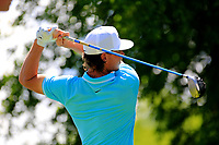Kristoffer Broberg (SWE) during the third round of the Lyoness Open powered by Organic+ played at Diamond Country Club, Atzenbrugg, Austria. 8-11 June 2017.<br /> 10/06/2017.<br /> Picture: Golffile | Phil Inglis<br /> <br /> <br /> All photo usage must carry mandatory copyright credit (&copy; Golffile | Phil Inglis)