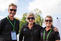 ESNZ STARS: Chef d'Equipe: Erik Duvander; Chef De Mission: Sarah Harris; Administrator: Holly Farr: SECOND DAY OF DRESSAGE: EVENTING: The Alltech FEI World Equestrian Games 2014 In Normandy - France (Friday 29 August) CREDIT: Libby Law COPYRIGHT: LIBBY LAW PHOTOGRAPHY - NZL