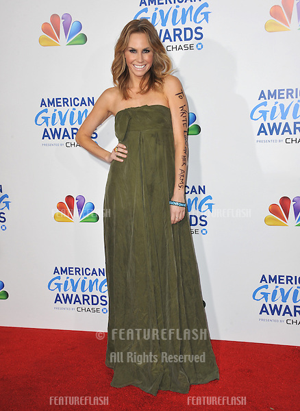 Keltie Colleen at the American Giving Awards at the Dorothy Chandler Pavilion in Los Angeles..December 9, 2011  Los Angeles, CA.Picture: Paul Smith / Featureflash