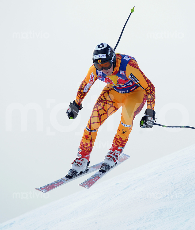Ski Alpin;  Saison 2007/2008  22.01.2009 69. Hahnenkamm Rennen,  Abfahrt   2. Training   John Kucera (CAN)