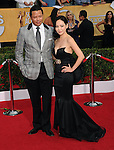 Terrence Howard, Miranda Howard attends The 20th SAG Awards held at The Shrine Auditorium in Los Angeles, California on January 18,2014                                                                               © 2014 Hollywood Press Agency