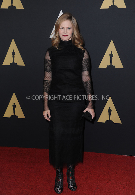 WWW.ACEPIXS.COM<br /> <br /> November 14 2015, LA<br /> <br /> Jennifer Jason Leigh arriving at the Academy of Motion Picture Arts and Sciences' 7th Annual Governors Awards at The Ray Dolby Ballroom at the Hollywood &amp; Highland Center on November 14, 2015 in Hollywood, California<br /> <br /> <br /> By Line: Peter West/ACE Pictures<br /> <br /> <br /> ACE Pictures, Inc.<br /> tel: 646 769 0430<br /> Email: info@acepixs.com<br /> www.acepixs.com