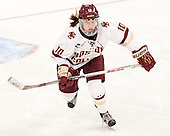 Kali Flanagan (BC - 10) - The Boston College Eagles defeated the Northeastern University Huskies 5-1 (EN) in their NCAA Quarterfinal on Saturday, March 12, 2016, at Kelley Rink in Conte Forum in Boston, Massachusetts.