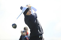 Matt Wallace (ENG) on the 4th tee during Round 1 of the Open de Espana 2018 at Centro Nacional de Golf on Thursday 12th April 2018.<br /> Picture:  Thos Caffrey / www.golffile.ie<br /> <br /> All photo usage must carry mandatory copyright credit (&copy; Golffile | Thos Caffrey)
