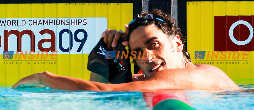 Roma 29th July 2009 - 13th Fina World Championships .From 17th to 2nd August 2009.100 m Freestyle men's Semifinals.Filippo Magnini ITA.photo: Roma2009.com/InsideFoto/SeaSee.com