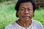 Don Ramon Duarte, spiritual elder and traditional healer of the Mbya Guarani village of Katupyry near San Ignacio, Misiones, Argentina.