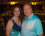 Melody Gray and Brett Snider during the Reno Fashion Show at the Atlantis Casino Resort Spa on Saturday July 7, 2018.