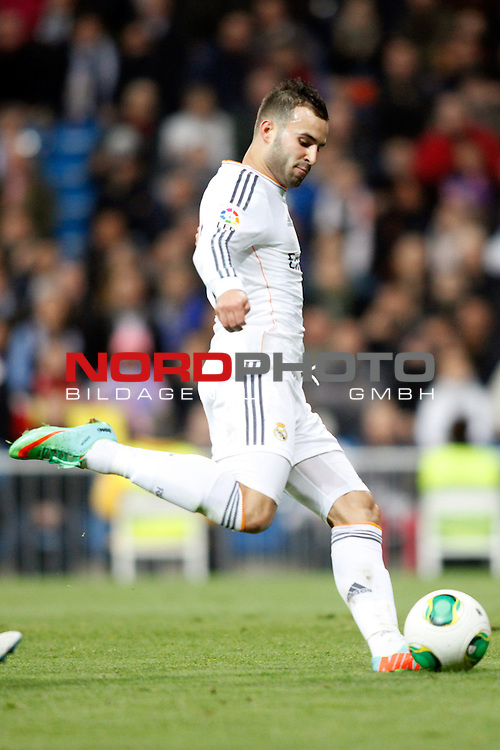 Real Madrid¬¥s Jese during a Spain King Cup soccer match between Real Madrid and Osasuna at Santiago Bernabeu Stadium in Madrid, Spain. January 09, 2014. Foto © nph / Caro Marin)
