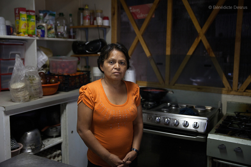 Portrait of Mirna Isabel Ramírez in San Salvador, El Salvador on June 9, 2015. Ramírez was arrested for attempted murder and sentenced to 12-and-a-half years in jail after giving birth prematurely in a latrine. Abortion in El Salvadorisillegal. The law formerly permitted an abortion to be performed under some limited circumstances, but, in 1998, all exceptions were removed when a newabortion law went into effect. Photo by Bénédicte Desrus