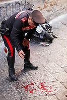 Agguato in vico delle nocelle  due pregiudicati ucciasi Ciro Marfè, di venticinque anni e Salvatore Esposito di trentadue. ed un feritoasquale Amodio di quarantatrè anni.