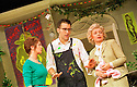 Victoria Hamilton,Clive Owen,Prunella Scales  in A Day in the Death of Joe Egg opens at the New Ambassadors Theatre on 1/10/01  pic Geraint Lewis