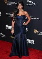 BEVERLY HILLS, CA, USA - OCTOBER 30: Natalie Amrossi arrives at the 2014 BAFTA Los Angeles Jaguar Britannia Awards Presented By BBC America And United Airlines held at The Beverly Hilton Hotel on October 30, 2014 in Beverly Hills, California, United States. (Photo by Xavier Collin/Celebrity Monitor)