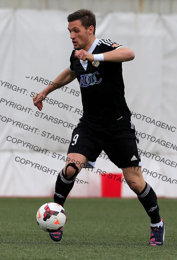 Fudbal Kup Srbije season 2014-2015<br /> Vozdovac v Cukaricki (second match)<br /> Nikola Stojiljkovic<br /> Beograd, 08.04.2015.<br /> foto: Srdjan Stevanovic/Starsportphoto&copy;