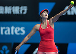 Maria Sharapova (RUS) defeats Shuai Peng (CHN) 6-3, 6-0  at the Australian Open being played at Melbourne Park in Melbourne, Australia on January 25, 2015