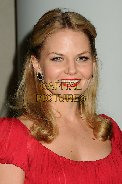 JENNIFER MORRISON.TV Guide Magazine's 2010 HOT LIST Party held at Drai's at the W Hotel, Hollywood, California, USA..November 8th, 2010.headshot portrait lipstick earrings red  .CAP/ADM/BP.©Byron Purvis/AdMedia/Capital Pictures.