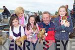 Nicole, Geraldine Cronin Rathmore, Nicole Willis, Seamus Willis Kilcummin and Niamh Cronin Rathmore enjoying the Rathmore Fair on Sunday