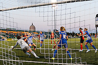 Rochester, NY - Friday June 24, 2016: Jami Kranich during a regular season National Women's Soccer League (NWSL) match between the Western New York Flash and the Boston Breakers at Rochester Rhinos Stadium.