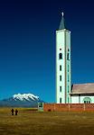Iglesia_Mt Illimani_El Alto_Bolivia