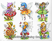 Interlitho-Theresa, CUTE ANIMALS, LUSTIGE TIERE, ANIMALITOS DIVERTIDOS, paintings+++++,elfen,KL4567,#ac#, EVERYDAY ,fairy,stickers mermaid,mermaids,fantasy