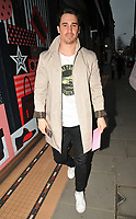 Josh Patterson at the Fashion Re-told pop-up shop launch party, Fashion Re-told, Sloane Street, London, England, UK, on Thursday 12 April 2018.<br /> CAP/CAN<br /> &copy;CAN/Capital Pictures
