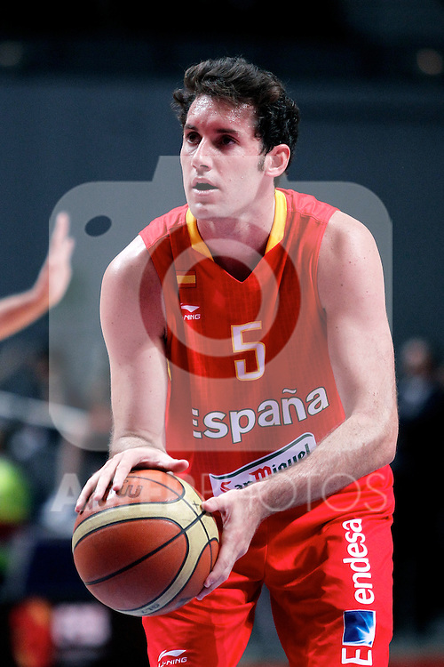 Spain's Rudy Fernandez during friendly match.July 9,2012.(ALTERPHOTOS/Alconada)